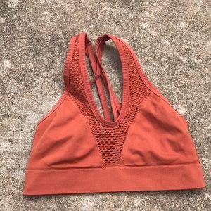 VSX strappy mesh sports bra